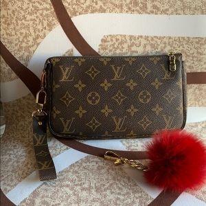 🥰Auth Louis Vuitton vintage pochette monogram